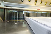 Modern paper guillotine — Stock Photo