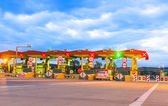 Toll booth station — Foto de Stock