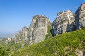 Monastery in Meteora mountain, Greece — Stock Photo
