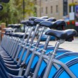 Bikes for rent in Lodnon — Stockfoto