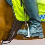 British policeman on horseback in London — Stock Photo #48252639