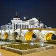 ������, ������: Old stone bridge and archeological museum of Macedonia
