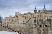 The Tower of London, medieval castle and prison — Stock Photo