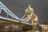 The Tower bridge in London — Stock fotografie
