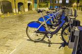 London City Bike Rental — Stock Photo