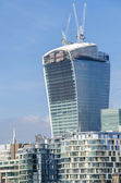 Giant office tower in London — Stock Photo