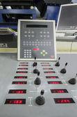 Offset roto printing machine registration control unit — Foto Stock