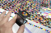 Gestione del colore di stampa — Foto Stock