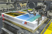 Offset machine press — Stock Photo