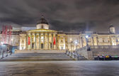 National Gallery and Trafalgar Square in London — Foto Stock