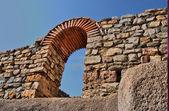 Macedonia ancient city excavations — Stock Photo