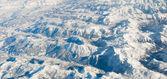 Alperna i vinter — Stockfoto