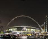 Wembley Stadium at night — Stock Photo