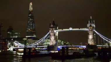 London Tower Bridge — Stock Video