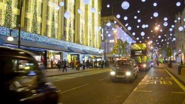 Oxford Street in London — Stock Video