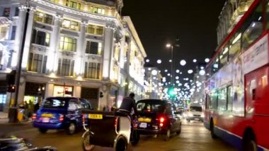 Christmas in London — Stock Video