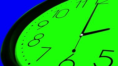 Clock Ticking Fast Time — Video Stock