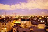 Paris by night — Stock Photo