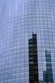 Skycrapers reflections — Stock Photo