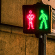 Pedestrian cross sign — Stock Photo