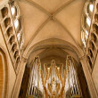 Stock Photo: Chruch organ