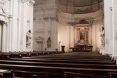 Empty church — Stock Photo