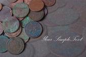 Antique coins — Stock Photo