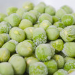 Stock Photo: Frozen green peas2