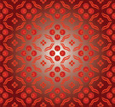 Red Cintemani Pattern — Stock Vector