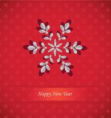 2014 Happy New Year Card — Stock Vector