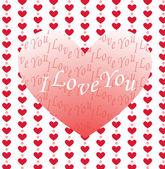 Valentijn wenskaart — Stockvector