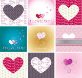 Greeting cards — Stock Vector