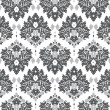 Grey Damask — Vector de stock #22020121