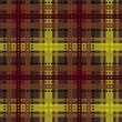 Stock Vector: Tartan, plaid seamless pattern