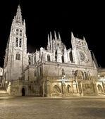 Kathedrale von burgos — Stockfoto