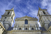 королевский монастырь сан-лоренсо де эль эскориал. мадрид, испания. — Стоковое фото
