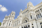 Central Post office building, Palacio de Comunicaciones, Madrid (Spain) — Stock Photo