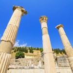 fornlämningar i Efesos Turkiet — Stockfoto
