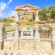 Stock Photo: Fountain of Trajin ancient city of Ephesus, Turkey