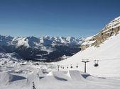 Snowpark at Madonna di Campiglio, Italy — Stock Photo