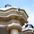 Couples in love at park Guell — Stock Photo #13534590