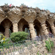 Stock Photo: Colonnade at Park Guell
