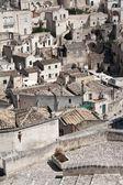 Sassi di Matera cityscape — Stock Photo