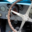 Stock Photo: Old car instrumental panel