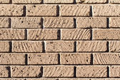 Tuff bricks wall — Stock Photo