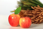 Apples isolated on white background. — Stock Photo