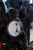 Locomotive headlight — Stock Photo