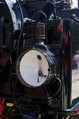 Lokomotive scheinwerfer — Stockfoto