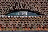 Dormer with window — Stock Photo