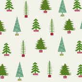 Set of Christmas trees — 图库矢量图片